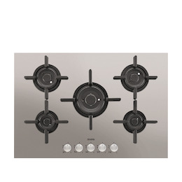 AEG HG755820UM Stainless steel 5 burner gas hob Reviews
