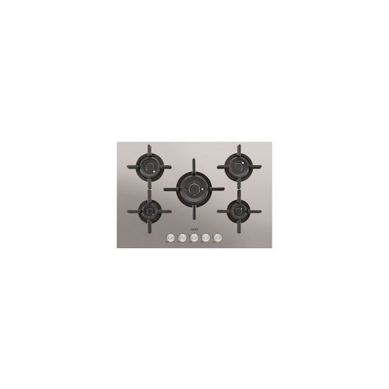 AEG HG755820UM Stainless steel 5 burner gas hob