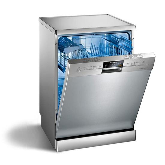 Siemens iQ300 SN26M831GB Full-size Dishwasher - Stainless Steel