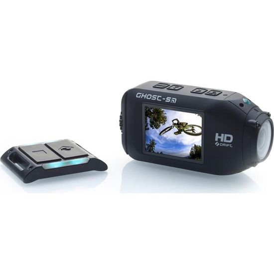 Ghost-S Action Camcorder - Black