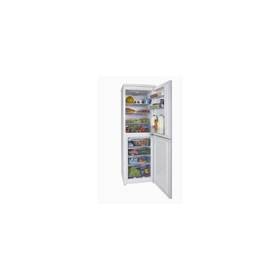White Knight FF225H Freestanding Combi Fridge Freezer White
