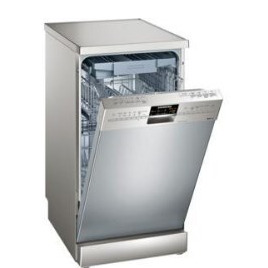 Siemens SR26T897EU Stainless steel 450mm Freestanding dishwasher Reviews