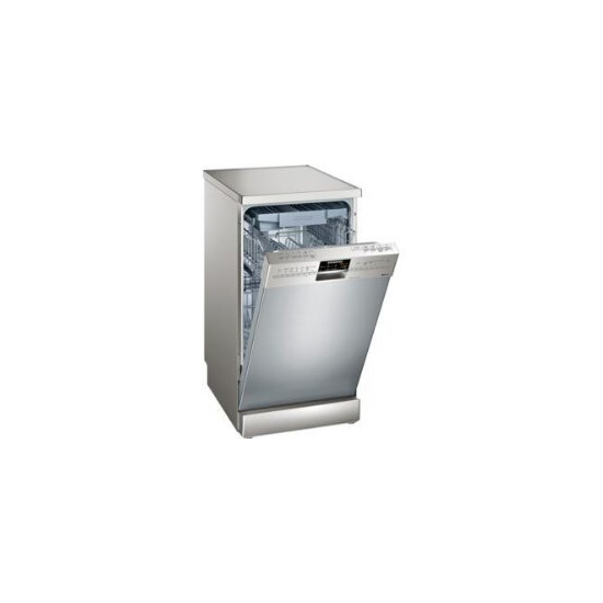 Siemens SR26T897EU Stainless steel 450mm Freestanding dishwasher