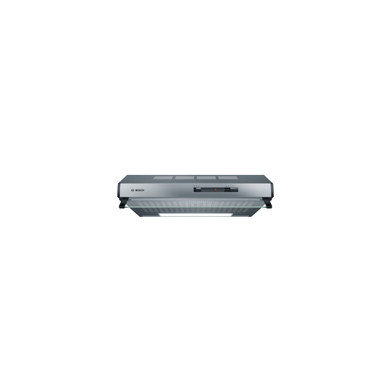 Bosch DHU645PGB Stainless steel 600mm conventional hood