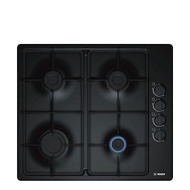 Bosch PBP6B6B60 Black 4 burner gas hob Reviews