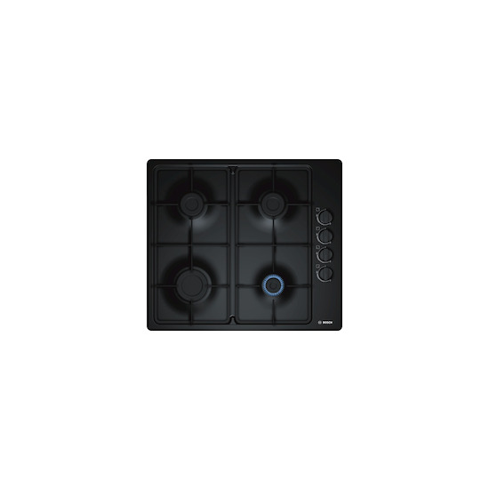 Bosch PBP6B6B60 Black 4 burner gas hob