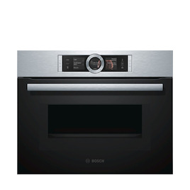 Bosch CNG6764S1B Built-in Combination Microwave - Stainless Steel
