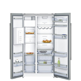 Neff KA3923I20G Stainless steel American Fridge freezer Reviews