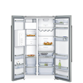 Neff KA3923I20G Stainless steel American Fridge freezer Reviews