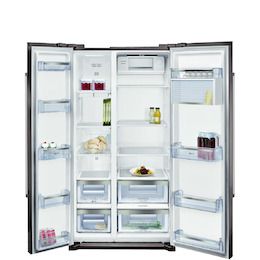 Neff KA7902I20G Stainless steel American Fridge freezer