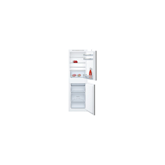 Neff KI5852S30G White Built in integrated fridge freezer