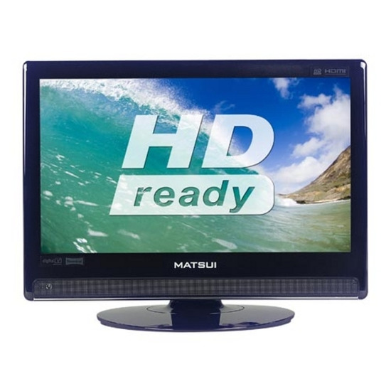 "MATSUI M19DIGB19 Refurbished 19"" HD Ready LCD TV - Black"