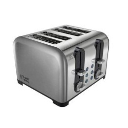 Russell Hobbs 22400 4 Slice Brushed & Polished Stainless Steel Toaster Reviews