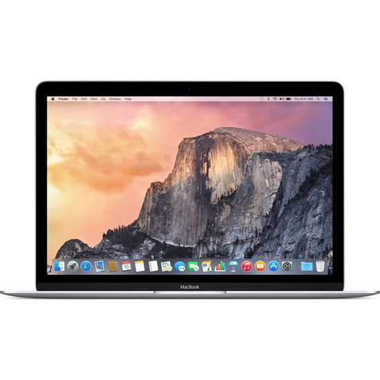 Apple MacBook MF855B/A Silver