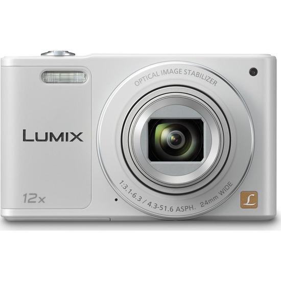 Panasonic Lumix DMC-SZ10EB-W Compact Digital Camera - White