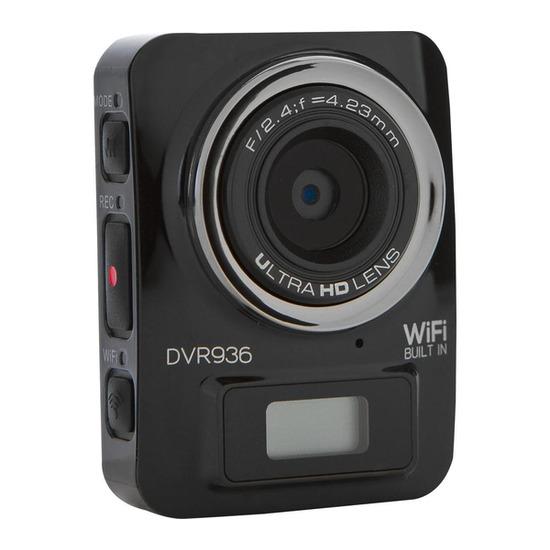 Vivitar DVR936HD Action Camcorder - Black