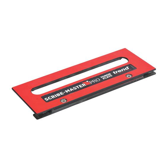 Trend SM/TSP Scribemaster Pro Tenon Slide Plate