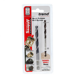 Trend SNAP/DD/8MM Snappy Dowel Drill 8mm Diameter Reviews