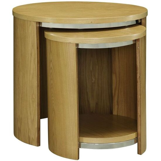 Jual JF306 Curve Veneer Nest Of Tables