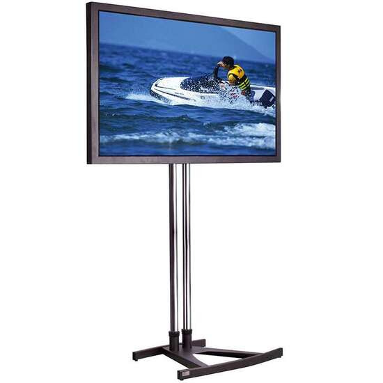 Unicol VS1000 Trade Show TV Stand Trolley 20 to 70 Screens