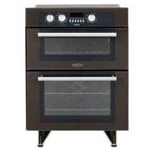 Photo of Hotpoint Built-In Double Oven - Brown Oven