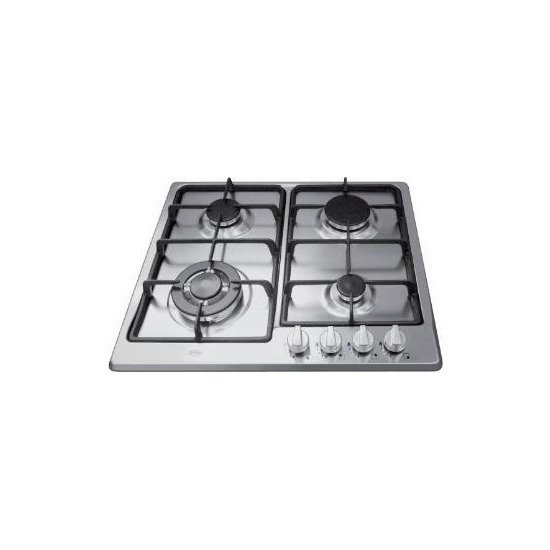 Belling 60 cm wide 4 burner Gas Hob in SS