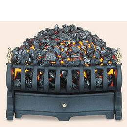 Burley Halstead Electric Fire in Black Reviews