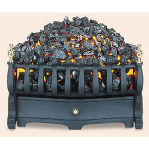 Photo of Burley Halstead Electric Fire In Black Electric Heating