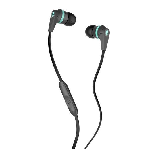 Skull Candy Ink'd 2.0 Headphones - Carbon & Mint