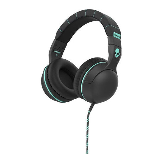 Hesh 2.0 Headphones - Carbon & Mint