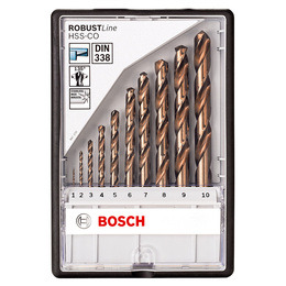 Bosch 2607019925 Metal Drill Bits HSS-Co 10 Pieces Reviews