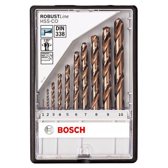 Bosch 2607019925 Metal Drill Bits HSS-Co 10 Pieces