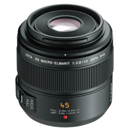 Panasonic H-ES045 Leica Dg Macro-Elmarit 45mm F2.8 Reviews