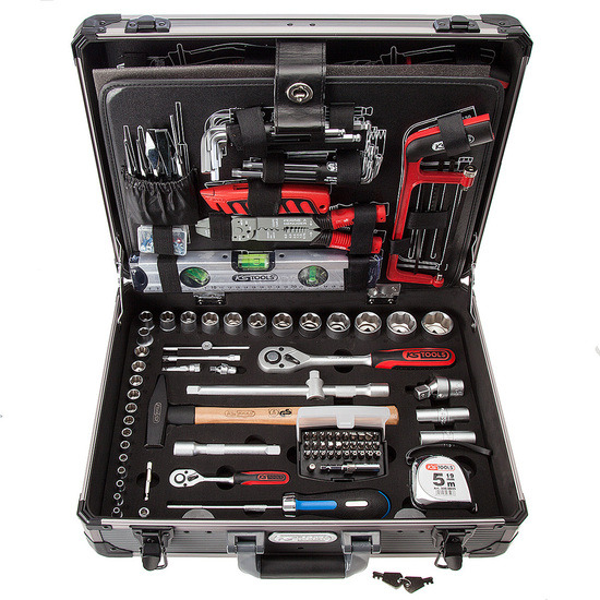 KS Tools 911.0727 Uni Tool Kit (127 Piece)