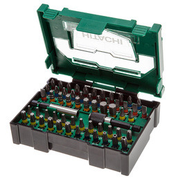 Hitachi 400.300.24 Stackable Accessory Bit Set 1 (60 Pieces) (Box Size 2) Reviews