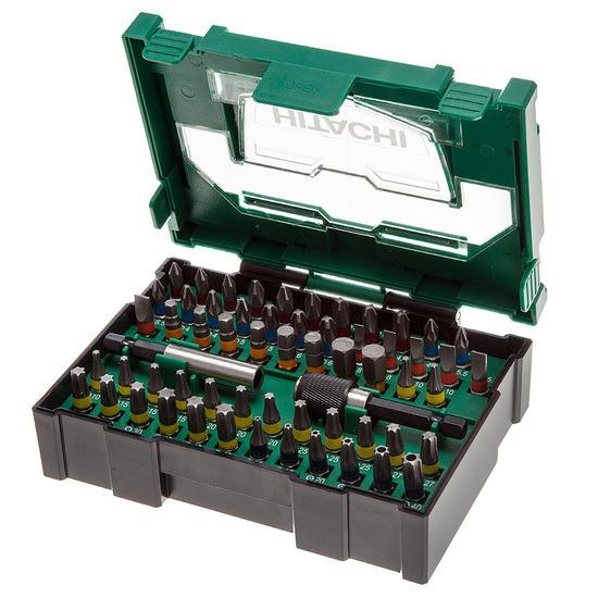 Hitachi 400.300.24 Stackable Accessory Bit Set 1 (60 Pieces) (Box Size 2)