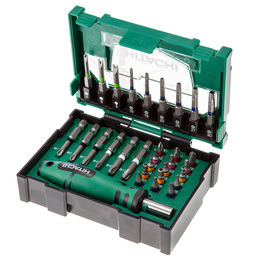 Hitachi 400.300.23 Stackable Accessory Security Bit Set 3 (31 Pieces) Box Size 2 Reviews