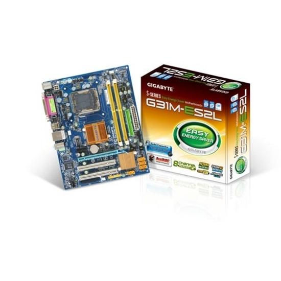 GIGABYTE GA-G31M-ES2L Intel G31 microATX Motherboard - LGA 775 Socket