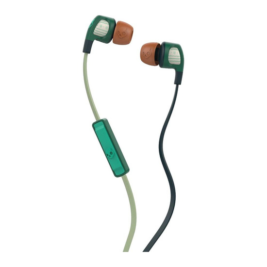 Skull Candy Smokin' Buds 2 Headphones - Forest Green