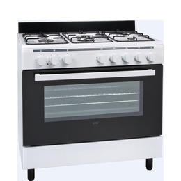 LOGIK LFTG90W14 Dual Fuel Range Cooker Reviews