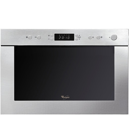 Whirlpool AMW 498 IX Built-in Microwave with Grill - Stainless Steel