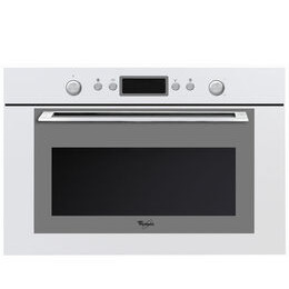 Whirlpool AMW 820 WH Built-in Microwave with Grill - White