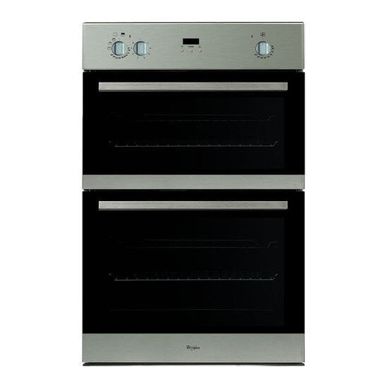 Whirlpool AKZ 162 02 IX Electric Double Oven - Stainless Steel