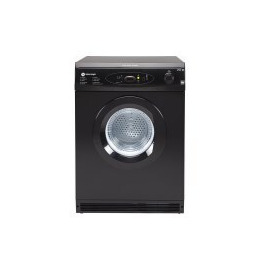White Knight C86A7B 7kg Vented Tumble Dryer With Digital Sensor Black Reviews