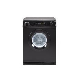 White Knight C86A7B 7kg Vented Tumble Dryer With Digital Sensor Black Reviews