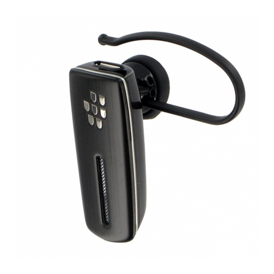 BLACKBERRY HS-500 Wireless Bluetooth Headset - Black