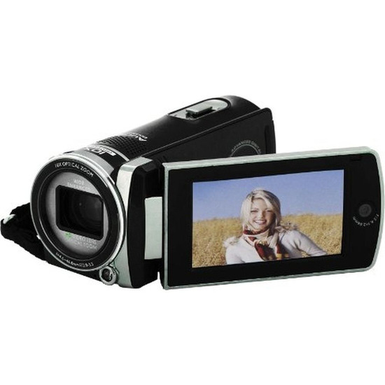 Polaroid ID975HD Traditional Camcorder - Black