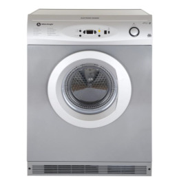 White Knight C86A7S 7kg Digital Sensing Air Vented Tumble Dryer Silver Reviews