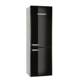 Montpellier MAB365K Fridge Freezer - Black Reviews