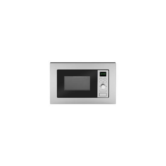 Caple CM120 Stainless steel Built in classic 600mm microwave oven with grill